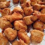 Tronchetti di pollo dorati