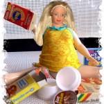 Barbie diventa grassa per aiutare i bambini