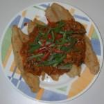 Pla Priew Wan, spigola fritta Thai