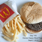 McDonald's Happy Meal Project: il cibo immortale