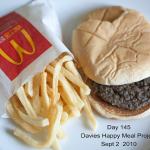McDonald's Happy Meal Project: il cibo immortale
